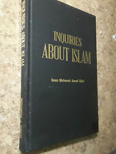 Inquiries About Islam by Imam Mohamad Jawad Chirri 1979 SIGNED