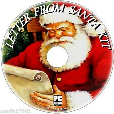 CREATE PERSONALISED LETTERS FROM SANTA GREAT TEMPLATES & SOFTWARE KIT CD ROM NEW