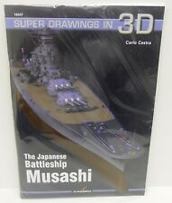 Kagero Publishing 16047 - Super Drawings In 3D - The Japanese Battleship Musashi