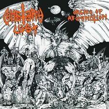 Cemetery Lust - Orgies of Abomination CD 2014 blackened thrash Hells Headbangers
