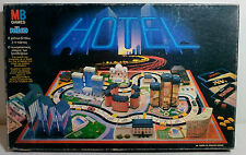 MB NILCO 1990 HOTEL HOTELS BOARD GAME GREEK VERSION # 4007 MADE IN GREECE RARE