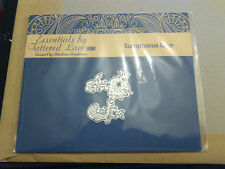 NEW RELEASE TATTERED LACE GATEFOLD SET 2 DECORATIVE DETAIL DIE-SUMPTUOUS  LACE