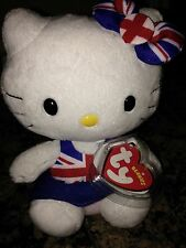NEW Hello Kitty UK Union Jack With Tag Protector UK Exclusive