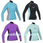 GUL LADIES RASH VEST RASH GUARD LONG SLEEVE UV PROTECTION kayak bodyboard jetski