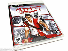 Escape Dead Island (PlayStation 3) PS3 - NEW!