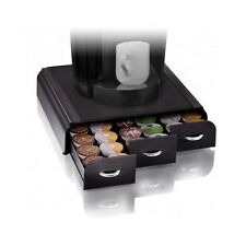Coffee Pod Storage Drawer Holder Kuerig Packs Rack Organizer Black