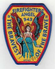 "91101 ArtAid Firefighter Angel Bravest Of The Brave 343 Patch (5"")"