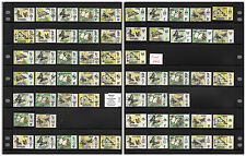 Malaysia Definitive Butterflies 1977/78 Harrison Print States Issue 60pcs Used