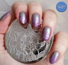 Nail Art Stamp Stamping pochoir Template Image plaque Ongle décoration#Qgirl-026
