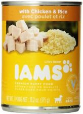 Iams Puppy Food Canned Chicken And Rice Health Dinner Healthy Pet Care Dog Dogs