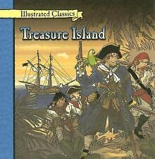Treasure Island (Illustrated Classics)-ExLibrary