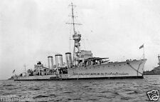 ROYAL NAVY ARETHUSA CLASS LIGHT CRUISER HMS GALATEA c 1915