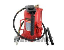 20 Ton Hydraulic Air Manual Bottle Jack Lift With Handle Hose Heavy Duty Garage