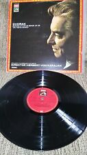"""HERBERT VON KARAJAN DVORAK NUEVO MUNDO LP VINYL 12"""" 1974 SPAN FIRST PRESS VG/VG"""