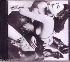 SCORPIONS Love At First Sting 1984 Mercury Records CD Classic 80s Hard Rock Rare