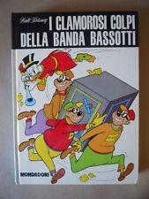 I CLAMOROSI COLPI DELLA BANDA BASSOTTI Copia per abbonati 1973 Disney [C84]