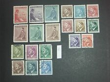 early Germany (Adolf Hitler) stamps mint & used (i do combine p&p) 1