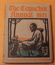 The Capuchin Annual 1971 Irish Annual VGC O.F.M. Cap. Fr. Henry Rare