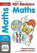 KS1 Maths SATs Practice Workbook (Collins KS1 Revision and Practice ... NEW BOOK