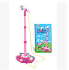 Peppa Pig MP3 music microphone set toys Christmas Xmas kids gift karaoke doll