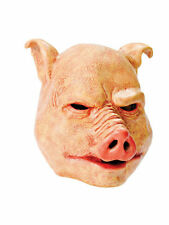 HORROR PIG OVER #HEAD RUBBER MASK FOR ADULT ONE SIZE FANCY DRESS ACCESSORY