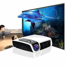 Luxcine C5D 3D DLP LED Home Theatre Projector 3000 Lumens HDMI USB VGA Original