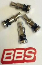 BBS OZ Stainless Tyre Valves. 8mm Brand New. Genuine BBS 35mm Tall RS RM RF