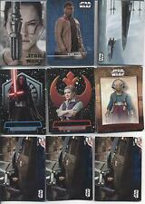 STAR WARS THE FORCE AWAKENS SERIES 2 SET (370) INSERTS, BASE, PARALLELS