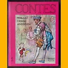 CONTES Perrault Grimm Andersen N. Charpiot Marino années 1980