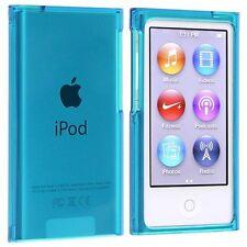Coque rigide étui housse de protection cristal bleu pour ipod nano 7G 7 G