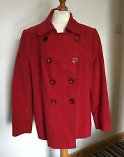 Marks & Spencer PER UNA Size 20 Coat Lined- Italian Fabric