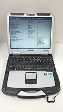 PANASONIC CF-31 TOUGHBOOK LAPTOP I5 2.4GHZ 4GB 160GB DVDRW TOUCHSCREEN WIN7 GPS
