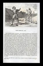santino incisione1800 S.ROMUALDO DI CAMALDOLI