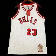 100% Authentic Michael Jordan Mitchell Ness Rookie Limited Edition Jersey Sz 44