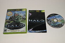 Halo Combat Evolved Microsoft Xbox Game Complete - Tested
