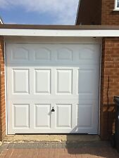 garador cathedral canopy Garage Door white up and over steel new Bargain eBay