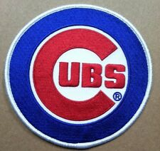 """Chicago Cubs sleve patch embroidered patch MLB Cubs 4 5/8"""" dia."""