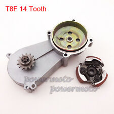 T8F 14T Clutch Drum Gear Box For 47cc 49cc Minimoto Kid Mini ATV Quad Dirt Bike