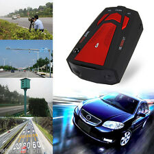 V7 360° 16 Band Scanning LED Radar Detector Laser Car Speed Testing System Red