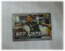 2014 Panini Prizm World Cup Base Net Finders Javier Hernandez Mexico #19