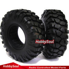 """RC 1/10 108MM 1.9"""" Crawler Tires Tyres for tamiya cc01 F350 rc4wd"""