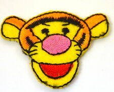 TIGGER WINNIE THE POOH BEAR  Embroidered Iron Sew On Cloth Patch Badge  APPLIQUE