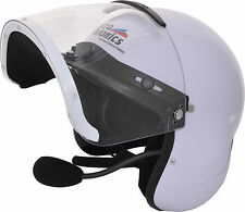 Micro Avionics Integral helmet with built in UL-100 headset. LYNX compatible.