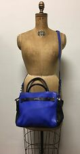 Fabulous Blue BOTKIER Two Way LEROY Handbag Crossbody Satchel