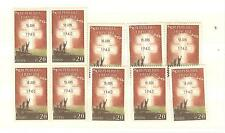 YVERT N° 1264 18 JUIN 1940 x 10 TIMBRES DE FRANCE Neufs **
