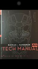BATMAN V SUPERMAN DAWN OF JUSTICE TECH MANUAL HARDCOVER ART BOOK