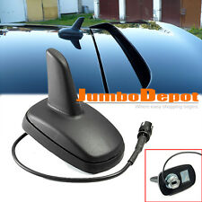 For VW JETTA GOLF GTI PASSAT B5 Roof Shark Fin Aerial FM AM Radio Antenna Black