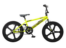 Rooster Big Daddy 20 BMX Yellow/Black with Skyway Mag Wheels RRP £239.99