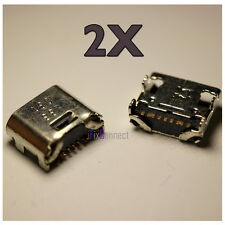 2 X New MICRO USB Charging Port Plug Samsung Galaxy Tab E Lite SM-T113 Kids USA