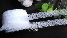 1/2  inch wide lace Trim Ribbon select color price for 3 yard